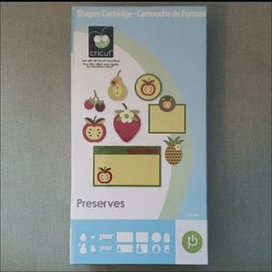 Cricut Shapes Preserves